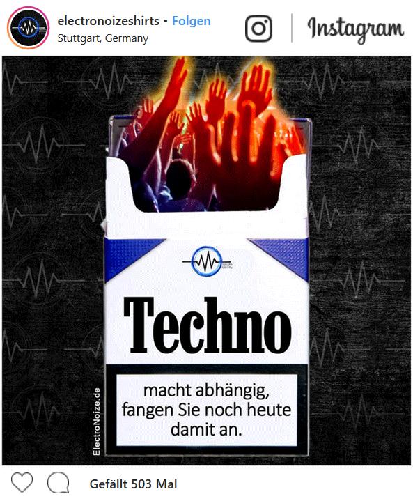 Electronoize Techno Fashion Musik Raver Community